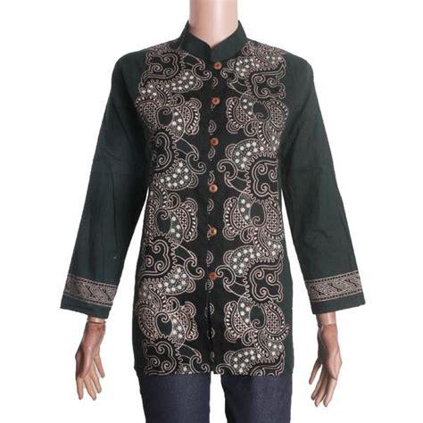 Arumi Batik by Blus Atasan Keja Motif Batik Lengan Panjang Arumi