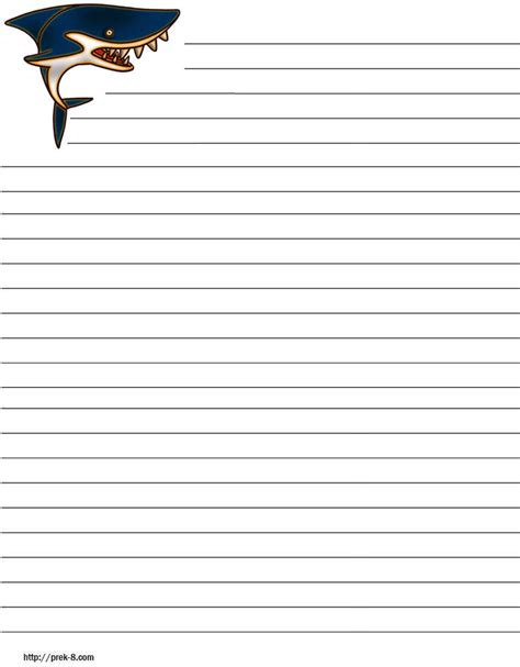 decorated writing paper free printable lined writing paper elementary 1000