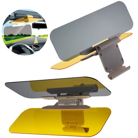 B1 Hd Vision Visor The Day And Visor Kode Dg1 2 hd uv anti glare universal auto car flip shield sun visor day vision ebay