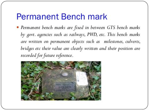 permanent bench mark permanent bench mark 28 images overview of jkr road