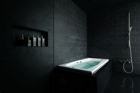 dark bathroom elegant dark bathroom design luxury topics luxury portal
