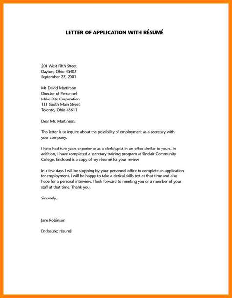 School Application Letter Format Sle Cover Letter For College Application Exle 28 Images 9 College Admission Letter Sle Day Care