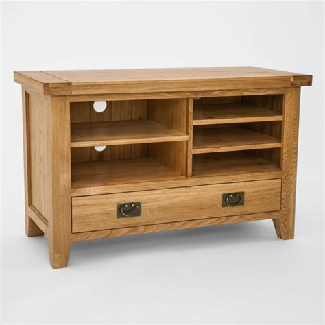 priory oak small tv unit robson furniture