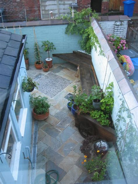 Fine Design Kitchens design and build of small back garden for a victorian