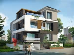 bungalow architecture mandi 3d power simple 1700 sq ft 3 bhk villa design