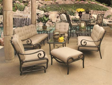 Outdoor Cast Aluminum Patio Furniture Aluminum Patio Sets Patio Design Ideas