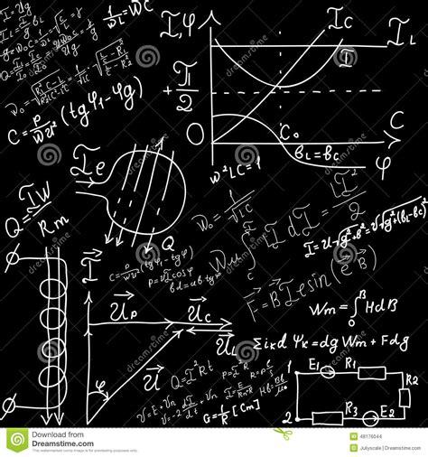 imagenes formulas matematicas ecuaciones y f 243 rmulas matem 225 ticas ilustraci 243 n del vector