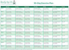 get fit sle exercise schedule 171 naturally garifuna