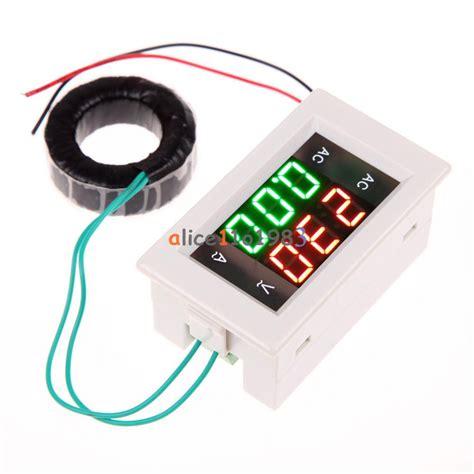 Volt Meter Cr45 300 V Acdc ac digital ammeter voltmeter lcd panel volt meter 100a