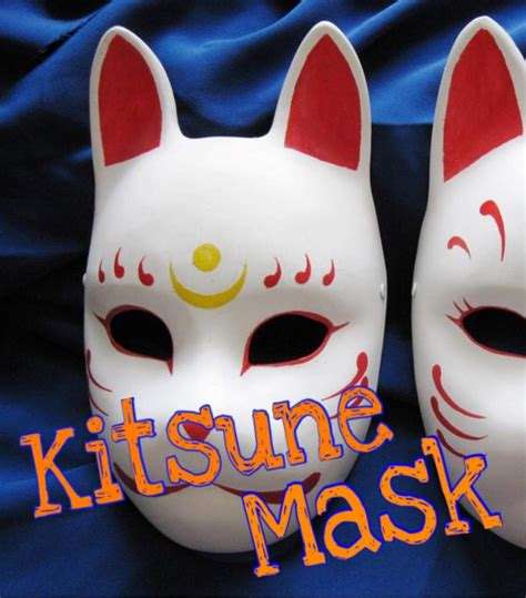 Kitsune Mask Papercraft - mask related keywords suggestions mask