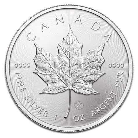 1 Ounce Silver Coin Canada - 1 ounce silver maple leaf coin
