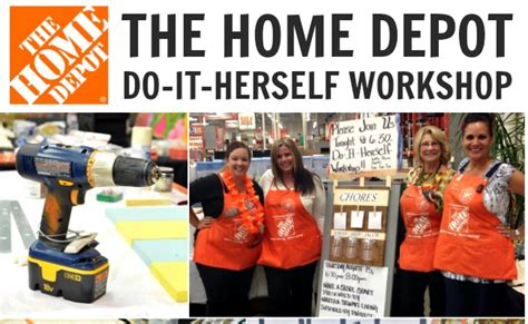 home depot do it herself workshop dihworkshop a