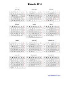 Kalender 2018 Norge Norsk Kalender 2016