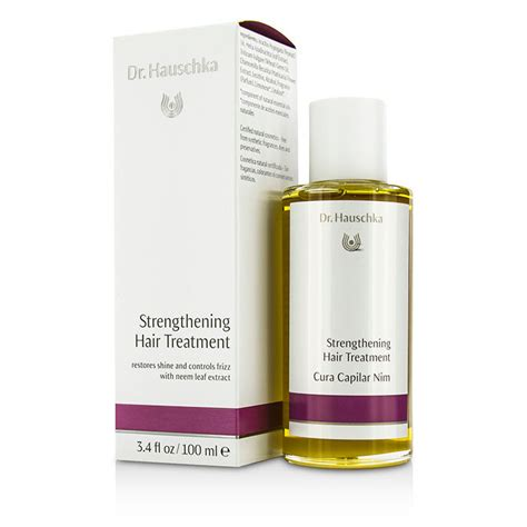 hair strengthening treatment dr hauschka strengthening hair treatment 100ml 3 4oz