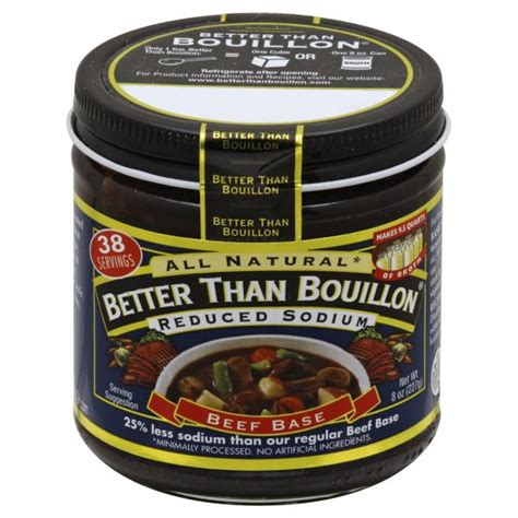 beef better than bouillon better than bouillon beef base reduced sodium publix