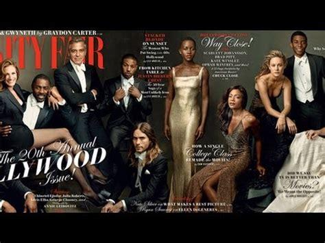 George Clooney Vanity Fair by George Clooney And Poke At Gwyneth
