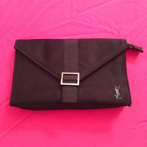 yves laurent bags ysl black travel makeup bag with