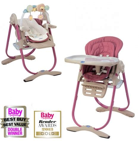 chicco polly magic 3 in 1 reclining high chair chicco pink 3in1 polly magic highchair reclining baby