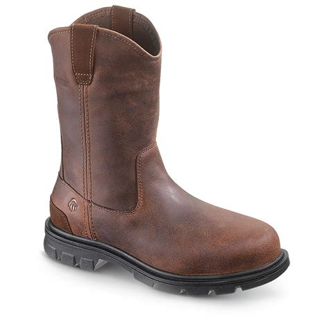 mens boots canada s wolverine 174 barton wellington boots brown 231423