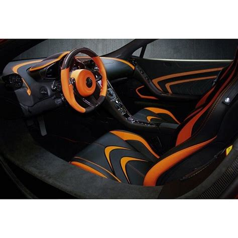 orange mclaren interior 17 best images about car interiors on pinterest