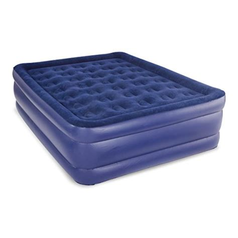 pure comfort air mattress pure comfort raised profile queen sized inflatable air