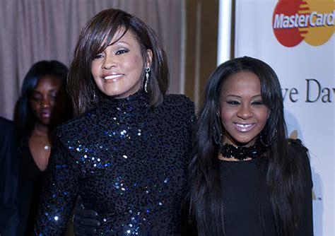 whitney houston and her daughter whitney houston s daughter released from l a hospital l