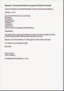 Corporate Secretary Resume Invitation Acceptance Letter Format
