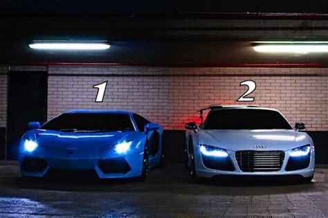Lamborghini Vs R8 Lambo Aventador 1 Or Audi R8 2 Vs