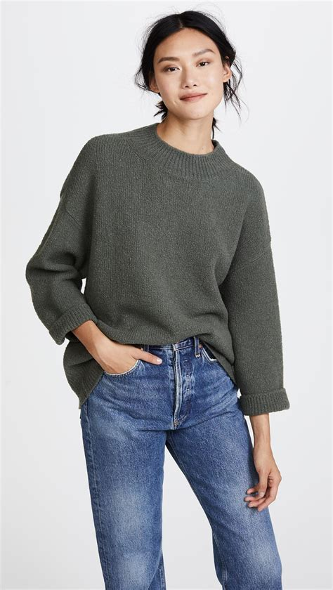 Sweater Frogstone Lyst Vince Boxy Pullover