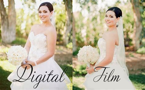 digital wedding photography did anyones photographers use instead of digital