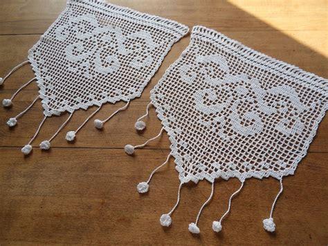 Modèles Rideaux Crochet Ancien