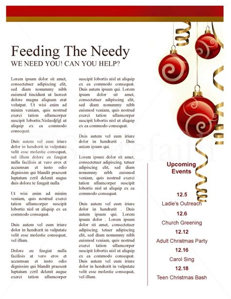 christmas newsletter templates for pages merry christmas newsletter template page 3