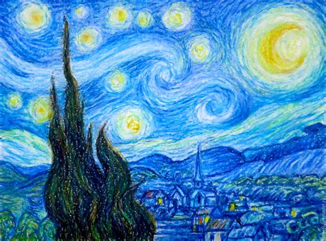 free painting the painting quot starry quot gogh free copy shop