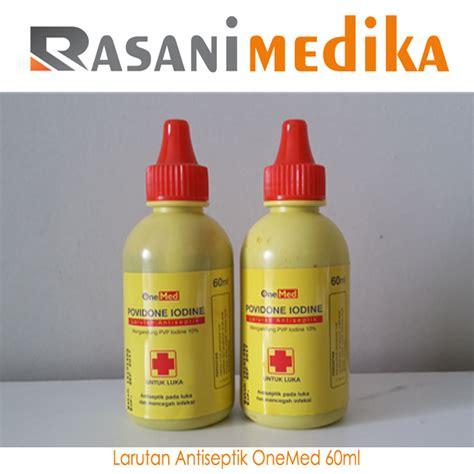 antiseptik povidone iodine onemed 60ml rasani medika