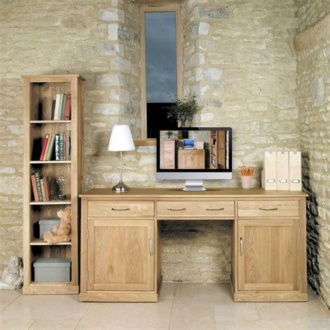 oak office furniture for the home mobel oak large office pedestal desk wooden