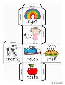 kindergarten activities senses five senses dice and recording sheet free 5 senses