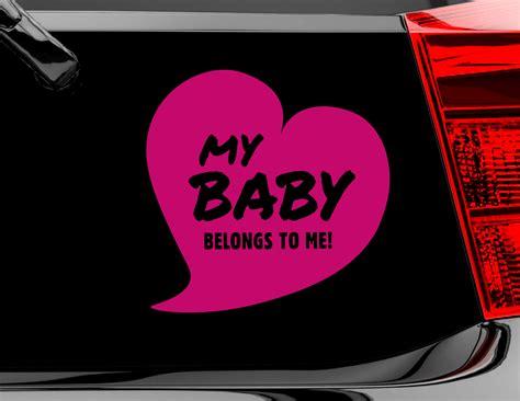 Autoaufkleber Baby Selbst Gestalten by Autoaufkleber My Baby