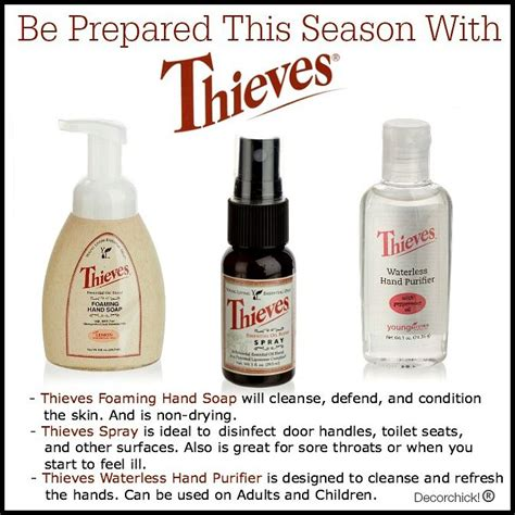 Best Quality Yl Essential Thieves Waterless Purifier 5 Ml be prepared with living thieves products for germ