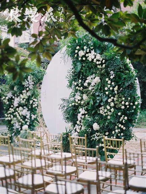 greenery  living wall wedding backdrops weddingomania