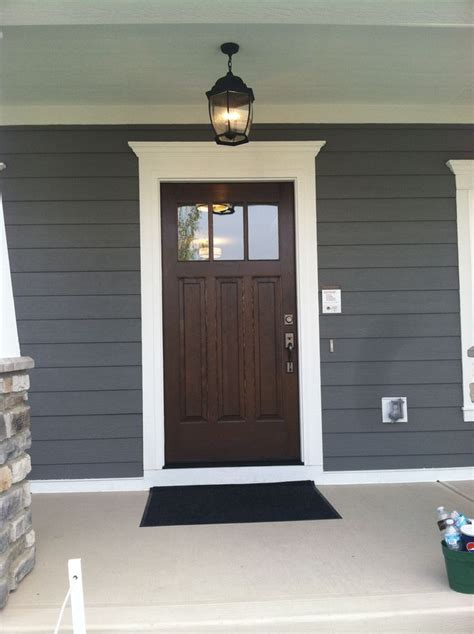 front door colors for gray house 25 best ideas about exterior siding colors on pinterest