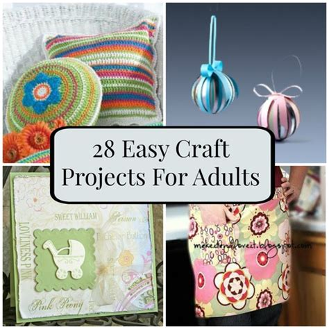 simple craft projects for adults 28 easy craft projects for adults favecrafts