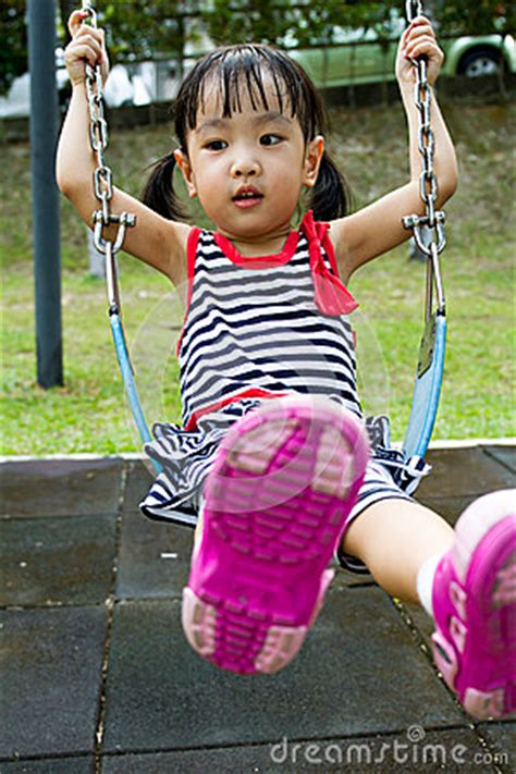 swing asia asian kid swing at park stock photo image 57108052