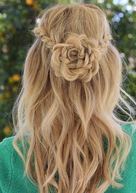 Hairstyles For Thin Hair For Teenagers by Flower Braid Hairstyles For Teenagers Haircuts