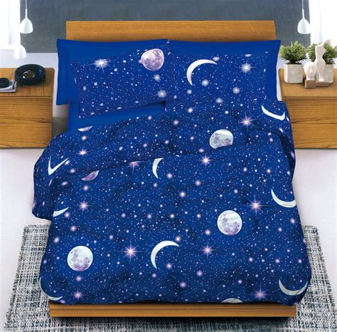 bassetti piumoni bambini completo lenzuola cotone lune e stelle cose di casa