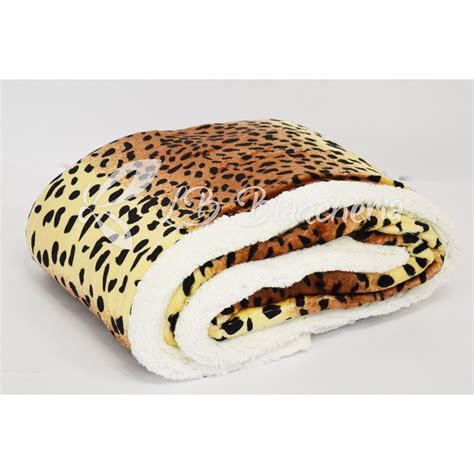 tappeti leopardati interesting coperta plaid agnellata cm x safari animalier
