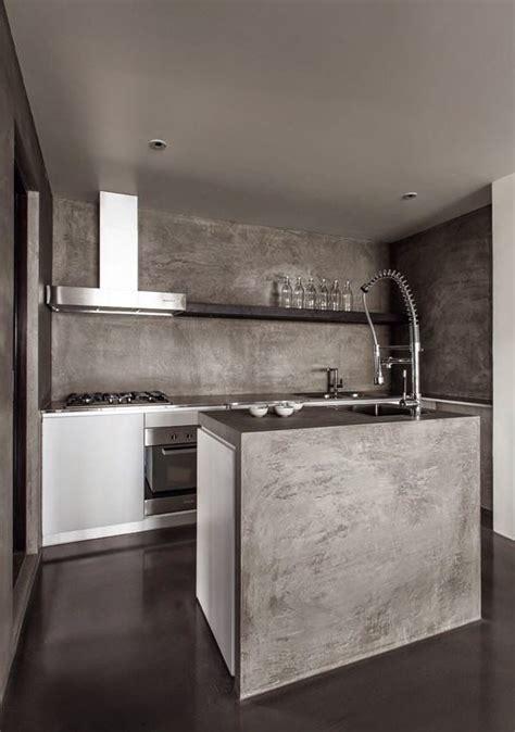 decoracion  microcemento octubre  cocina de cemento cocina de concreto microcemento