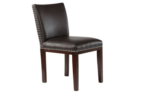 Bonded Leather Chair by Black Bonded Leather Chair At Gardner White