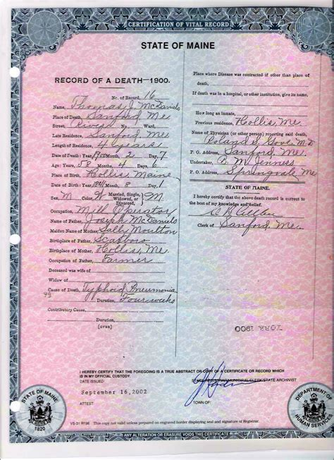 Oklahoma Birth Records Genealogy Certificates