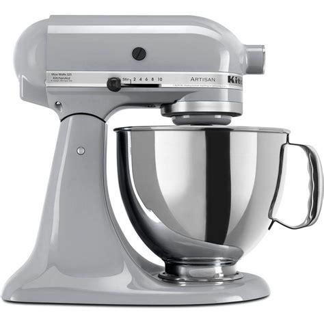 home kitchen aid kitchenaid artisan 5 qt metallic charcoal stand mixer