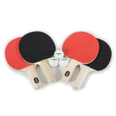 4 Player Table Tennis Set by Stiga Classic 4 Player Table Tennis Set